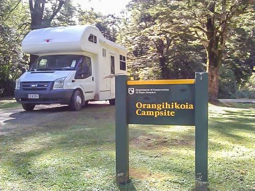 New Zealand Four Berth Ford Transit Motorhome for Swap with