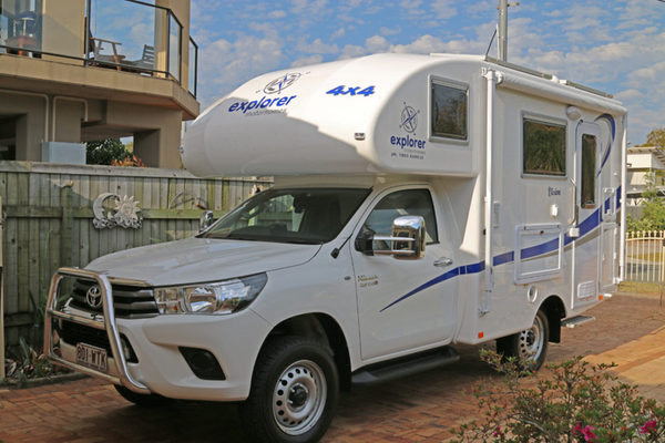Motorhome In Australia To Exchange For Europe And Nz Rv