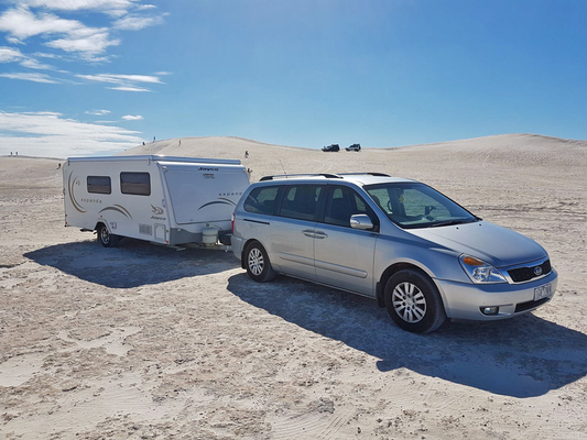 7 Seater Car 6 Berth Caravan Near Melbourne Australia Rv